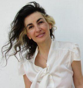 Schriftstellerin Tatin Giannaro Kopf