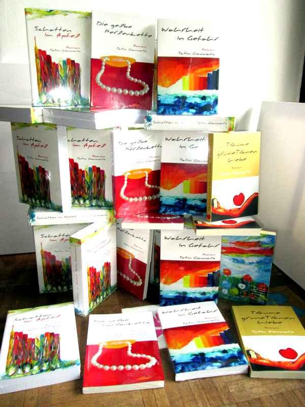 4 Romane von Tatin Giannaro