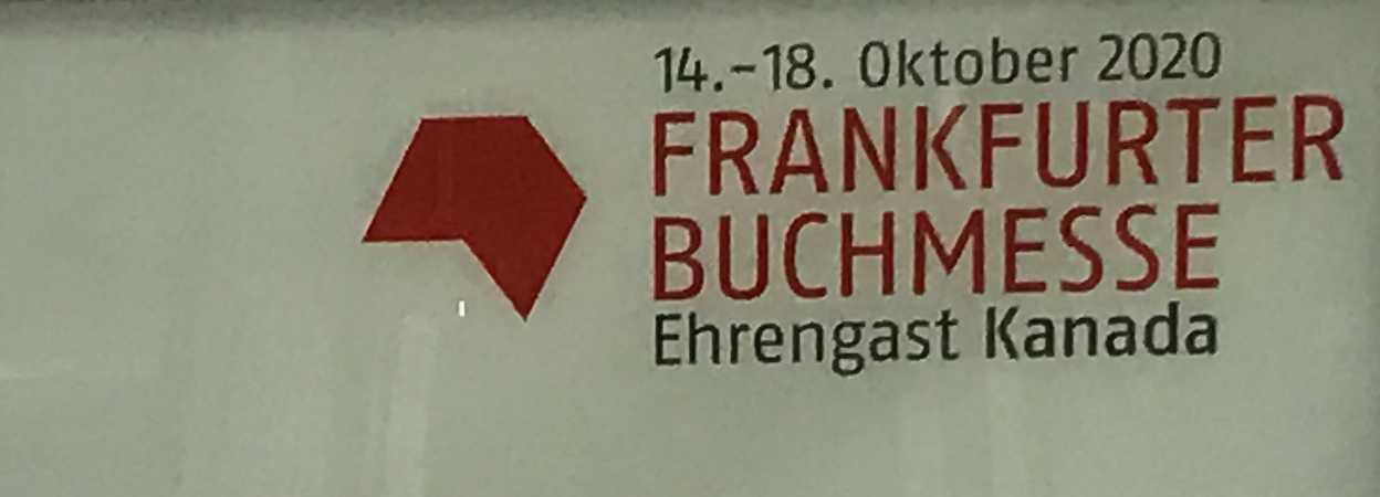 Frankfurter Buchmesse 2020 sign