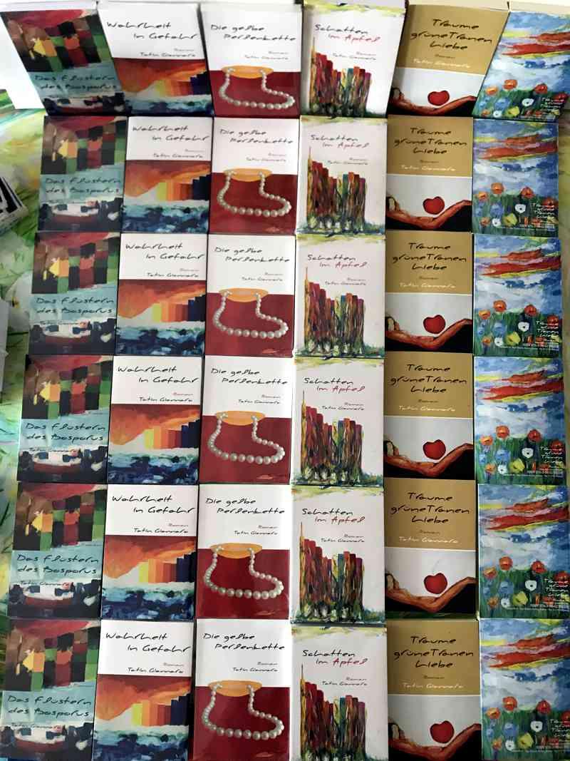 5 Romane von Tatin Giannaro